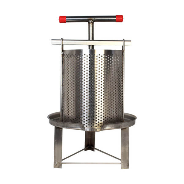 Stainless Steel Manual Honey Press
